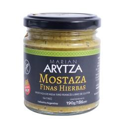 Mostaza Finas Hierbas Aritza