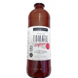 Pure de tomate orgánico...