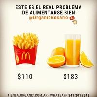"""Es indudable que comer rico y sano es más caro que comer rico y mal. . Me viene a la mente la frase """"Comer es una necesidad, pero comer de forma inteligente es un arte"""" 👏👏👏 . Empezá a planificar tus compras de alimentos saludables de forma inteligente apostando por productos frescos y de temporada. 👉🌱 . 📌 Como siempre decimos ... Si los alimentos son orgánicos mucho mejor ☝️ . . Para comunicarte con Organic hacelo por estos medios ⤵️ . 🔹🔹🔹🔹🔹🔹🔹🔹🔹🔹🔹 🛒tienda.organic.com.ar 📩 info@organic.com.ar 🔹🔹🔹🔹🔹🔹🔹🔹🔹🔹🔹 . . . . . . #rosarioorganco #organicorosario #cambiaxorganic #productosorganicos #organicoargentina #frutasyverduras #frutasyverdurasorganicas #rosario #funes #frutas #frutassaludables #verduras #alimentosorganicos #mani #naranjas #vidasana #sano #huevosdecampo #espinaca  #agroecologico #alimentacionsana #comersano #verduraorganicarosario"""